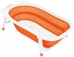 How can we not love this orange folding tub from Karibu which means welcome in Swahili!     The Top Toddler Bathtubs of 2013