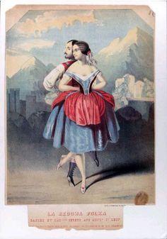 La Redowa polka danced by Madelle Cerito and Monsr. St. Leon