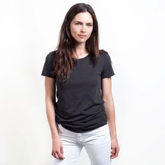 Actually, I just bought it. www.everlane.com sells high quality merch at sane prices. Supima cotton T for $15 bucks.