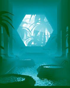 Carl Burton e sua viagem pelo mundo da ficção surrealista  #phd #fridom #art #fashion #carlburton #surrealism