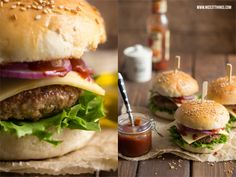 Nicest Things - Food, Interior, DIY: Das beste Burger-Rezept mit selbstgemachten Brötchen (Thermomix)