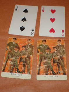 There were Beatle playing cards in 1964