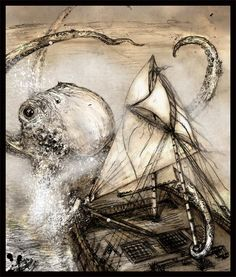the Kraken by Fenster.deviantart.com on @deviantART
