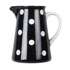 Karaf - stip zwart - Kitchen Trend Products