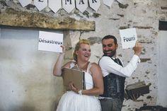 Une idée d'animation drôle pour les mariés : le jeu des adjectifs Wedding Details, Marie, Reception, Wedding Day, Wedding Inspiration, Bridal, Elle Lui, Adeline, Benoit