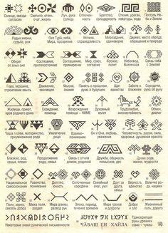 Rune Symbols, Magic Symbols, Russian Embroidery, Folk Embroidery, Slavic Tattoo, Motifs Aztèques, The Marionette, Rune Tattoo, Modern Magic