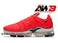 newest collection 11e7f 637cc Chaussures Nike Tn Pas Cher Pour Homme Nike Air Vapormax Plus Rouge  924453-602-