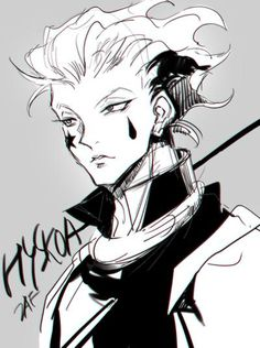 Hisoka fanart, posted by @adoniszaf (March 2015)