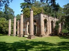 Old Church Ruins in Beaufort
