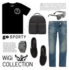 """WiGi J Series Luxury T-shirt"" by wigicollection ❤ liked on Polyvore featuring River Island, NIKE, adidas Originals, Nixon, Anja, glasses, blacktshirt, wigicollection and jseriescollection"