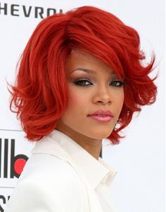 Celebrity Hairstyles - medium red straight hair styles (20845)   VISIT US FOR #HAIRSTYLES AND #HAIR ADVICE  WWW.UKHAIRDRESSERS.COM