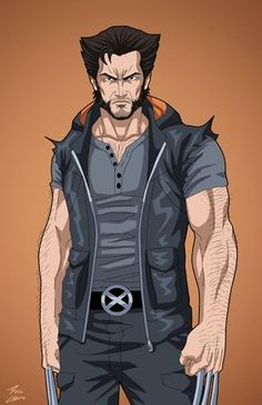 The Wolverine commission by phil-cho on DeviantArt Wolverine Art, Logan Wolverine, Logan Xmen, Hq Marvel, Marvel Heroes, Superhero Characters, Comic Book Characters, X Men, Harley Queen