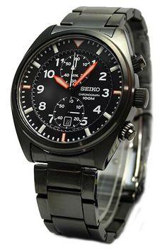 2746f58b5d6 Seiko Sport Chronograph 100M Watch SNN237P1