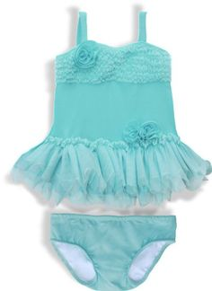 Ciao Bella Girl's Swimwear. Island Breeze 2pc « Clothing Impulse  @Joy Suarez  would look so good on babygirl!