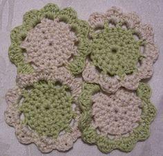 Dragonfaeriee Crochet Tales: Dragon Coasters© - free crochet pattern