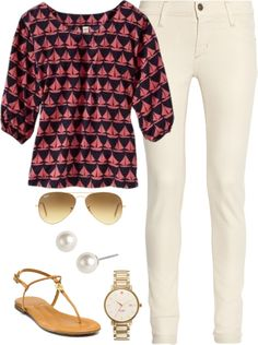 """""""Sailboat Spring"""" by classically-preppy ❤ liked on Polyvore"""