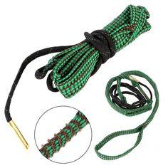 Bore serpent Cleaner Tali 22 Cal de 5.56mm calibre pistolet fusil kit de nettoyage Cordes Chasse accessoires d'armes à feu