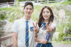 i ship them too Korean Actresses, Korean Actors, Actors & Actresses, Hyun Kim, Jung Hyun, School2017 Kdrama, Yoon Han, School 2013, Drama School