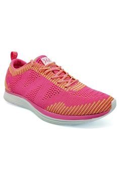 361 Degrees Ultra Lightweight Cross Training Shoes (Light Red/Light Yellow)