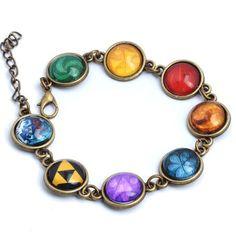 The Legend of Zelda Game Logo Bracelet