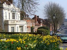 Castle Street, Farnham, Surrey, UK. This was my hometown from 2005 to 2008