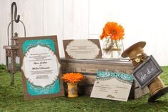 Layered Wedding Invitations - Lace It Up | MagnetStreet