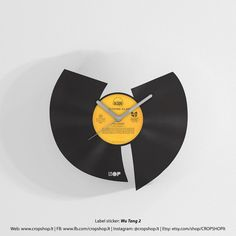 We present you this unique hand made Wu Tang Clan wall clock made from an…