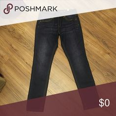"""NWT Justice Girls 12 1/2 Dark wash Jeggings Size 12 1/2 plus skinny jeans NEW with tags dark wash skinny jeans """"simply low jeggings"""" from Justice. Justice Bottoms Jeans"""