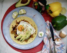 Oeufs à la mexicaine Brunch, Menu, Breakfast, White Bean, Flour Tortillas, Tin Whistle, Exotic Fruit, Seasonal Recipe, Cilantro