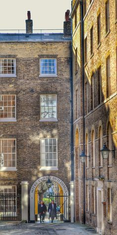 London, opposite the royal courts of justice. A moment captured in the glorious sunshine