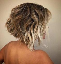 Balayage for short hair