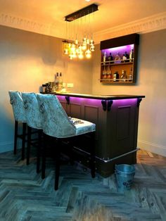 Very happy with bar, highly rec. Corner Home Bar, Log Cabin Sheds, Corner Sheds, Pool Table Room, Homemade Bar, Home Bar Areas, Bar Shed, Wooden Corbels, Gin Bar