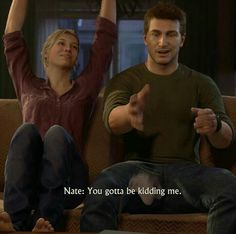 Uncharted 4 - Nathan and Elena