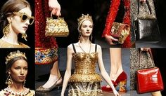 Fall Winter 2014 Accessory Trends from Dolce&Gabbana Mosaic Collection