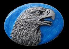 Eagle's Head Belt Buckle American Wild Bald Eagles Unique Bikers Belts & Buckles  #eagle #eagles #eaglebuckle #eaglebeltbuckle #flyingeagle #baldeagle #americaneagle #beltbuckles #coolbuckles #buckle