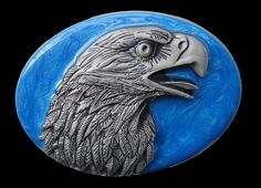 Eagle's Head Belt Buckle American Wild Bald Eagles Unique Bikers Belts & Buckles  #eagle #eagles #eaglebuckle #eaglebeltbuckle #flyingeagle #baldeagle #americaneagle #beltbuckles #coolbuckles #buckle