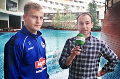 Mittelfeldspieler Christoph Hemlein im Video-Interview über einen freien Tag und Belastungen im Trainingslager +++  »Mal die Beine hochlegen«
