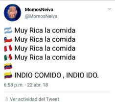 Publicación de Instagram de Chistes Colombianos • Abr 23, 2018 at 5:29 UTC Memes Humor, Funny Memes, 3 Am, Outlines, Cringe, Lol, Smile, Random, Instagram Posts