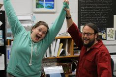 Laura just completed her Ph.D proposal!  Shawn rejoices.