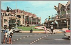 Asbury Park New Jersey Convention Hall And Beachfront Pavilion 1966 Postcard