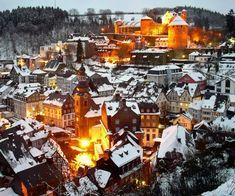 Monschau im Winter, © MonschauTouristik GmbH
