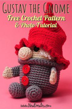 Crochet Pokemon, Crochet Geek, Crochet Crafts, Crochet Dolls, Crochet Projects, Free Crochet, Single Crochet Decrease, Christmas Crochet Patterns, Easy Knitting