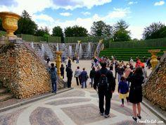 The Fountains of Versailles, Parc de Versailles - Travel To Eat Natural Garden, Small Gardens, Water Features, Dolores Park, France, Explore, Marie Antoinette, Places, Travel
