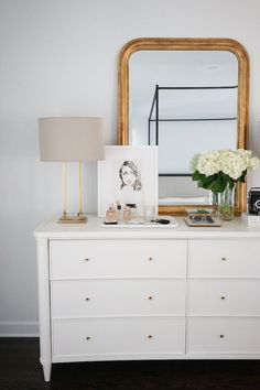 GIVEAWAY: We're giving away a stunning Henley Wide Dresser from Arhaus, the perfect addition to your bedroom decor, valued at over . Blue Master Bedroom, Master Bedroom Design, Home Decor Bedroom, Bedroom Ideas, Modern Bedroom, Contemporary Bedroom, Bedroom Designs, Bedroom Images, Bed Designs