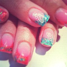 Summer nails by Tara