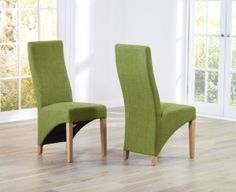 Mark Harris Harley Lime Dining Chair (Pair)