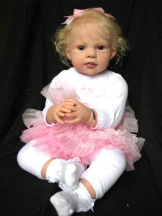 "Reborn Baby Doll Toddler ""Louise"" by Jannie de Lange now ""Isabella"" 