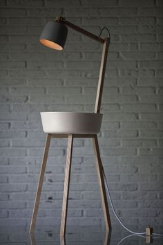 floorlamp Tafelstukken: simple and functional design | lighting . Beleuchtung . luminaires | Design: Cappellini | Daphna Laurens |