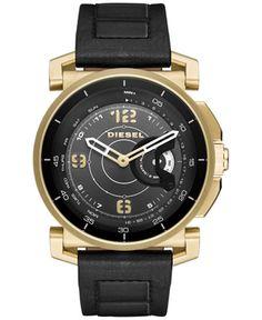 b66c3d48f DieselOn Time Hybrid DZT1004 Diesel Watch, Brown Leather Watch, Watch  Deals, Online Shopping