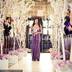 Pretty purple brides